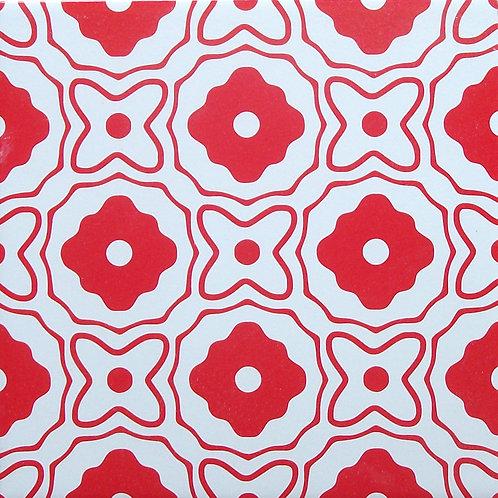 Azulejo Vermelho 05