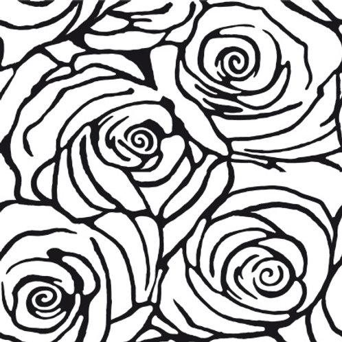 Azulejo Preto e Branco 12 (AJPB-12)
