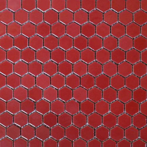 Pastilha Sextavada 2,5x2,5 Vermelho