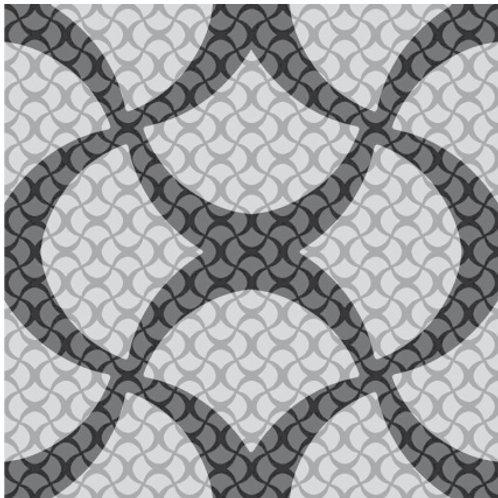Azulejo Preto e Branco 07 (AJPB-07)