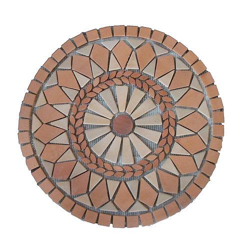 Rústico Mosaico Geométrico