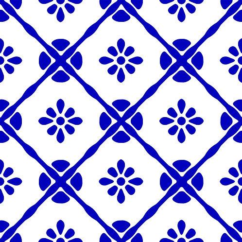 Azulejo Blu 04