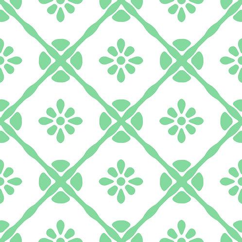 Azulejo Verde 04