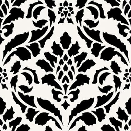 Azulejo Preto e Branco 01 (AJPB-01)