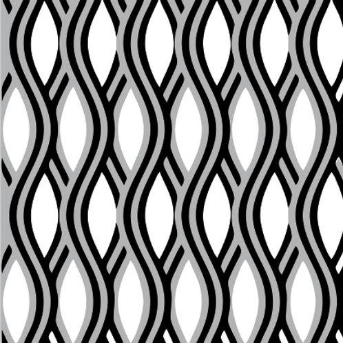 Azulejo Preto e Branco 09 (AJPB-09)