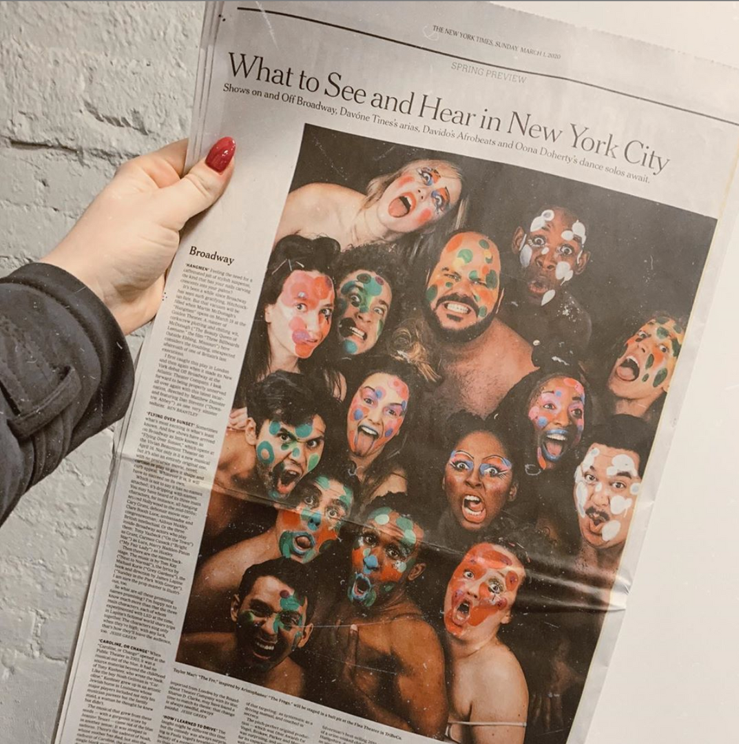 Full page feature in The New York Times Sunday Edition.