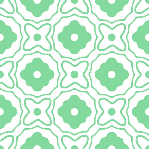 Azulejo Verde 05