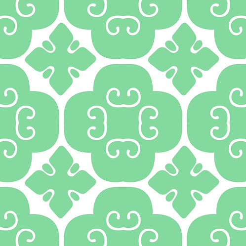 Azulejo Verde 02