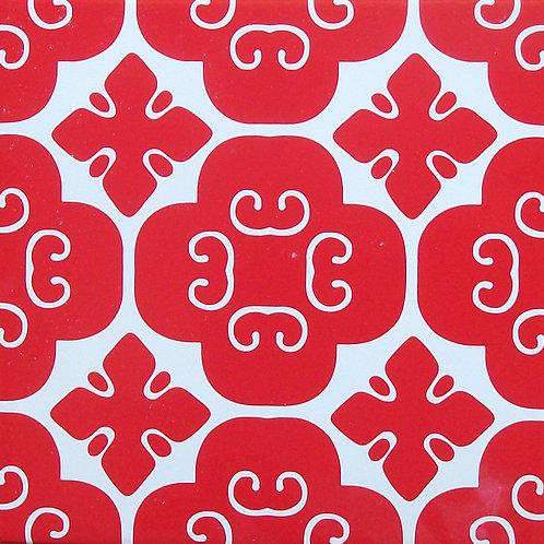 Azulejo Vermelho 02