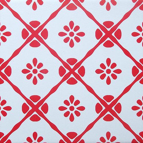 Azulejo Vermelho 04
