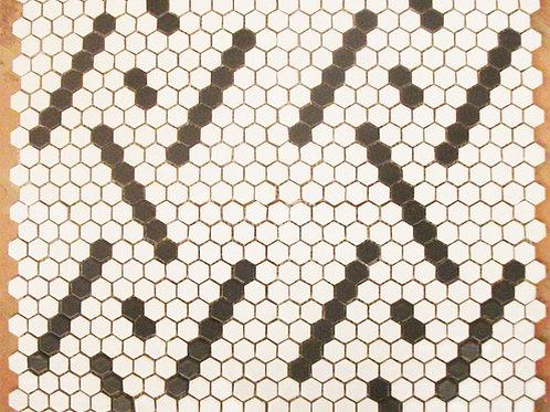 Pastilha Sextavada Geométrico Módulo 1