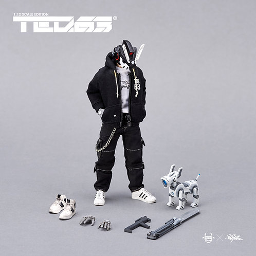 "1:12 ""TEQ63"" Action Figure OG Black Edition (STANDARD SET)"