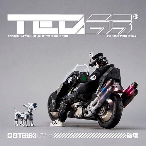 """1:12 """"TEQ63"""" Action Figure OG Black Edition (DELUXE SET)"""