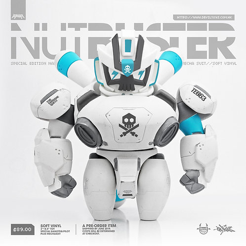 """(Ghost)""""NanoTEQ: NUTBUSTER"""" Mech + Pilot(Pre order)(Sold Out)"""