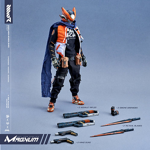 MAGNUM One-Sixth Scale Action Figure