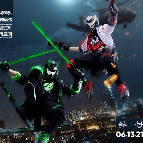 DXIII Noir & Carbine Frost Breaker Set