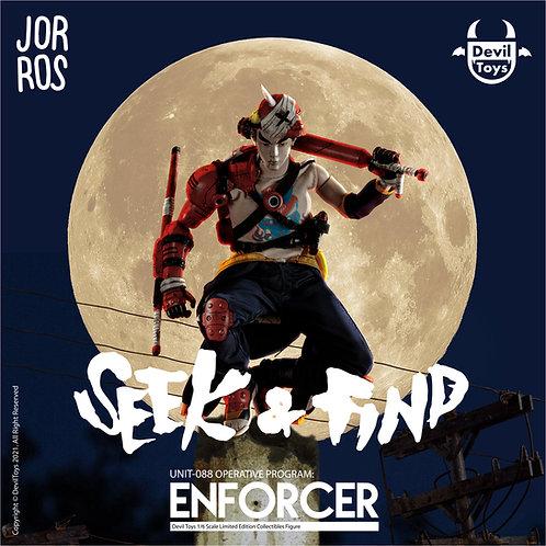 Jor Ros X Devil Toys: Enforcer Unit-088 1/6 collectible figures