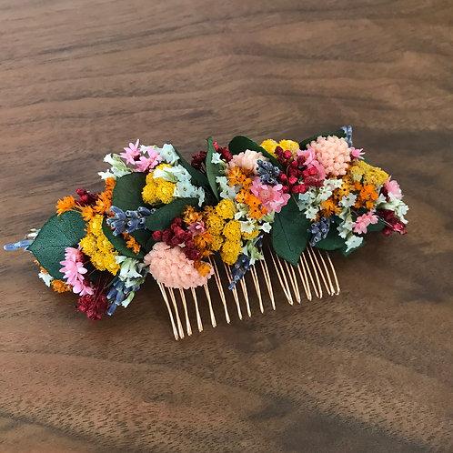 """Peigne fleurs séchées """"Locronan"""""""