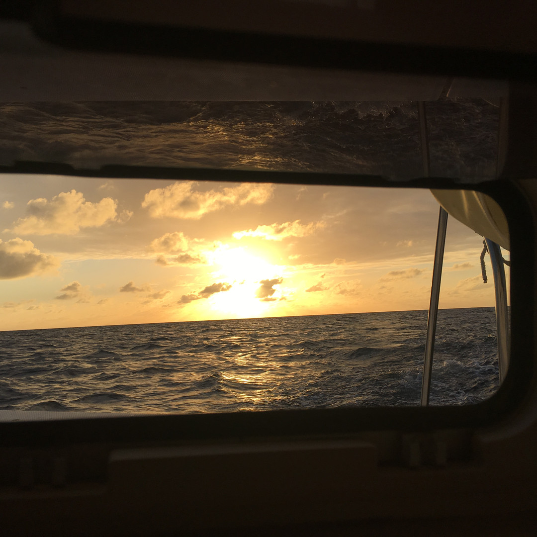 Sunset Catamaran Hatch Bahamas Charter