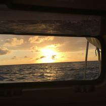 Sunset Catamaran Hatch Bahamas Charter
