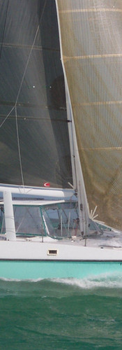 Green Flash Racing Sail