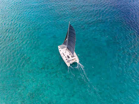 Clear sea Sailing Catamaran Charters