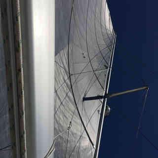 boom-main-sail-calvert-Calvert-Sails-Bahamas-Catamaran-Charters