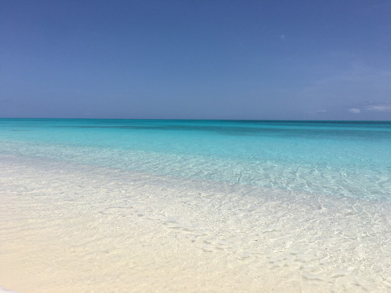 White Sand Beach and Crystal Clear Water