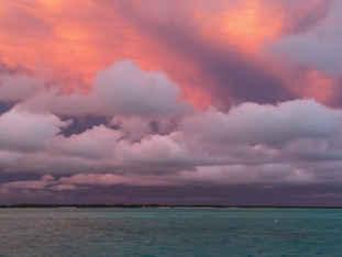 Bahamas Sunset sailing catamaran