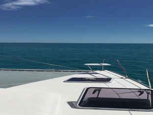 Sailing ocean Bahamas catamaran
