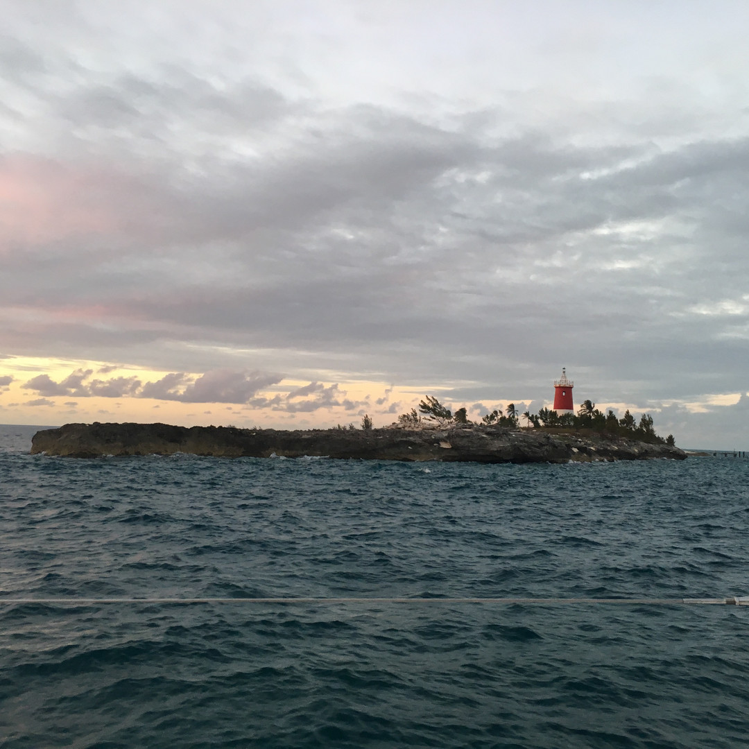 Bahamas Lighthouse Sailing Charter Calve