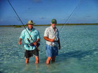 Fishing Shallows Bahamas Sailing Catamaran Charters