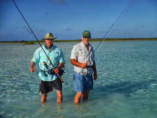 Fishing Shallows Bahamas Sailing Catamaran Charters