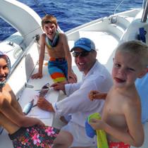 Sailing Charter Fish Filet Family