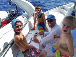 Fish Filet Family Bahamas Sailing Catamaran Charters
