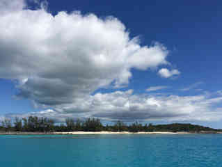 Deserted-beach-sky-clouds-cat-island-Atwood-Harbour-Beach-Bahamas-Sailing-Catamaran-Charters