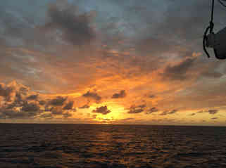 Sunset-Atwood-Harbour-Beach-Bahamas-Sailing-Catamaran-Charters