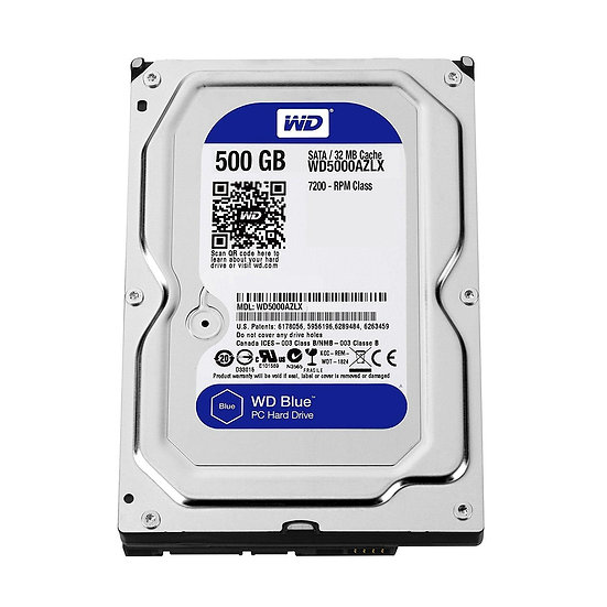 "Western Digital WD 3.5"" Internal HDD 500 GB (Blue)"