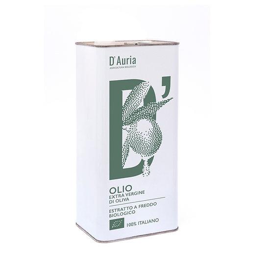 3 Litri - Olio Extravergine di Oliva Bio in tanica