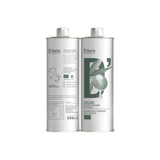 Kit degustazione - 2 Bottiglie Olio EVO 500 ml