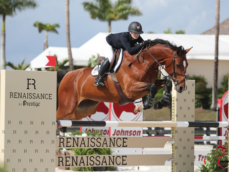 Maddy Thatcher and PLF's Celine Jump to Success in the $10,000 Low A/O Classic