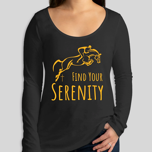 Find Your Serenity Women's Long Sleeve Shirt