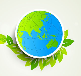 nature-background-with-globe-on-green-le