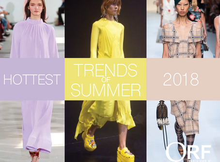 The Hottest Trends of Summer '18