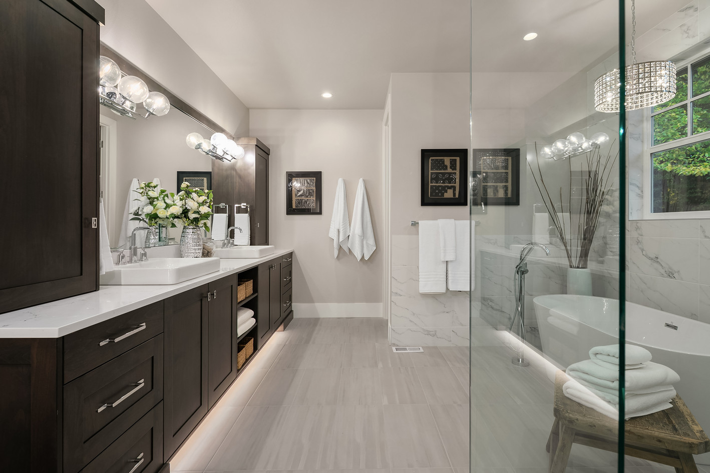 Enfort Homes Kirkland Master Bath Vanity