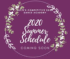 Summer Schedule Coming Soon.jpg