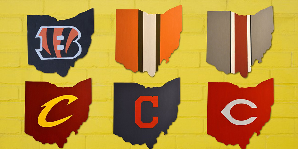 Wood Ohio Sports Signs