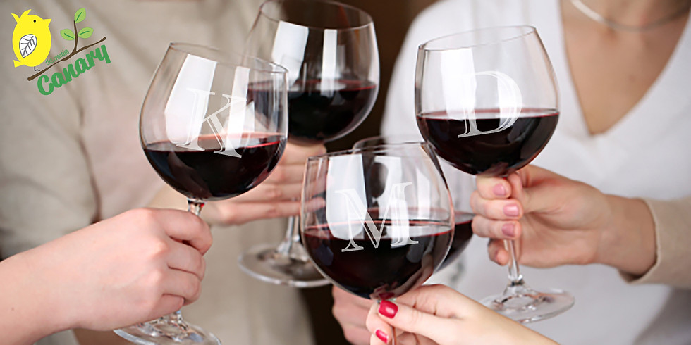 DIY Personalized Etched Wine Glasses