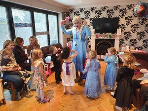 princess party elsa