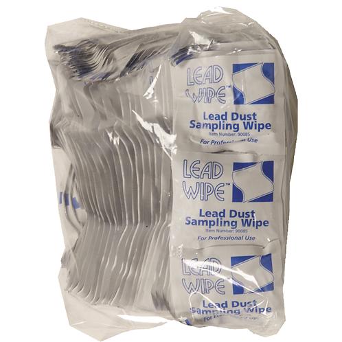 Lead Wipes, ASTM E1792, (100) Wipes Per Bag, (10) Bags Per Case